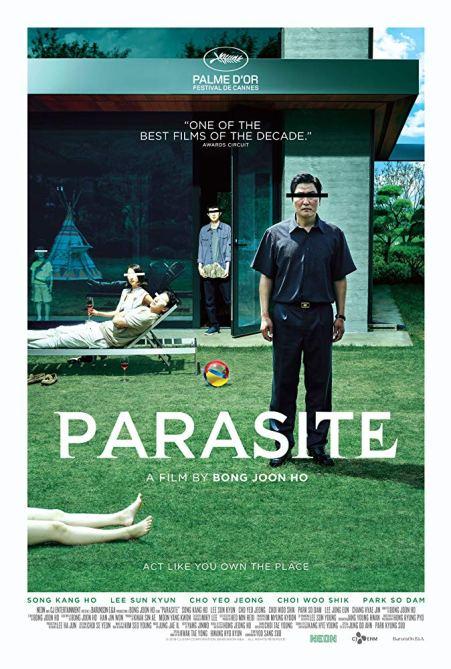 parasite locandina ufficiale