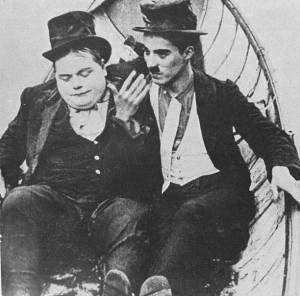 Fatty e Chaplin