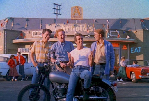 happy days drive in