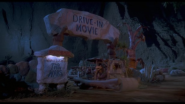 the flinststones il primo drive in